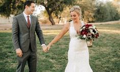Бесценная реакция будущего мужа, когда он впервые видит наряд невесты: видео