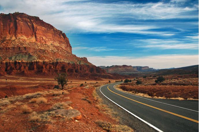 Дорога Красных Скал