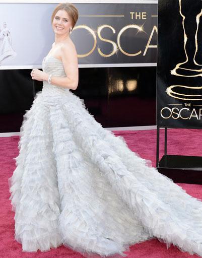 """Эми Адамс (Amy Adams) на премии """"Оскар""""-2013"""