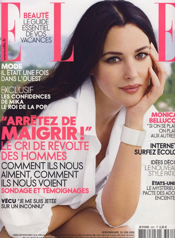 Elle Франция, июнь 2008 (С. Леннон)