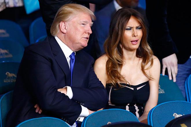 Памела Андерсон подарит супруге Трампа российскую шубу