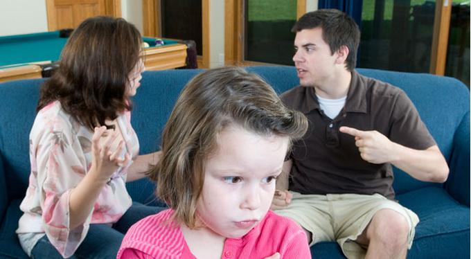 Развод: что думают о нем дети