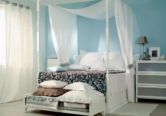 Как оформить спальню в пастельных тонах