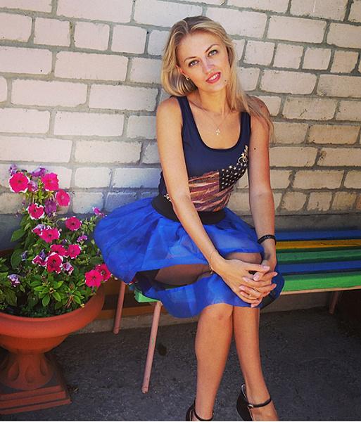 Екатерина Бородина, стюардесса, фото
