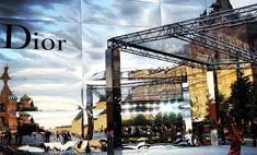 На Красной площади прошел показ Dior