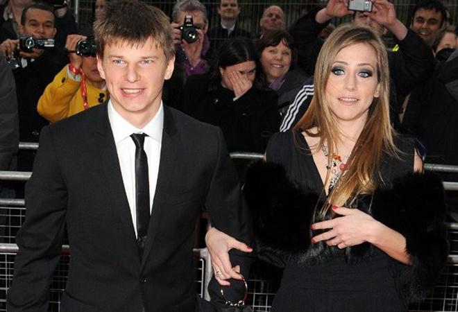 Юлия Барановская и Андрей Аршавин: фото