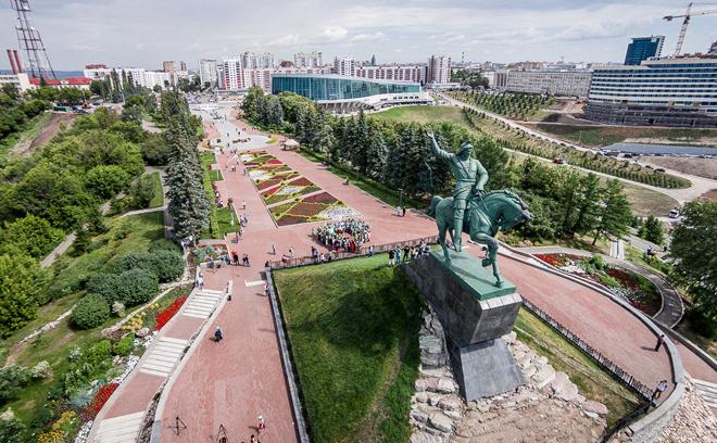 Сердце города Уфа