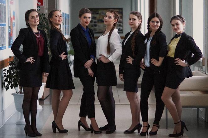 Самая красивая школьница Томска
