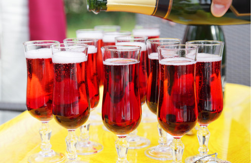 рецепт коктейля с шампанским фото