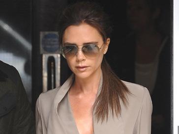 Виктория Бекхэм (Vicoria Beckham) не стесняется своего тела