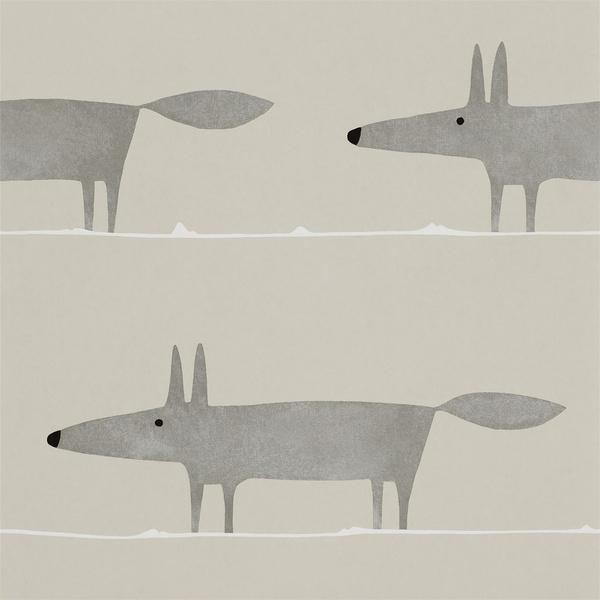 Обои Mr Fox, Scion (салоны Manders)