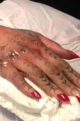 татуировки рианны