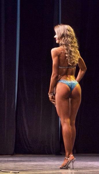 Яна Кемпенен, фитнес-бикини модель, г. Красноярск