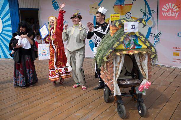 парад колясок в Уфе 2015