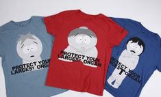 Обнаженные герои «Южного парка» появились на футболках Marc Jacobs