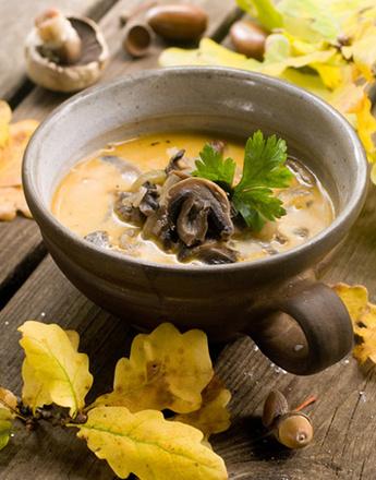 Рецепт грибного крем-супа