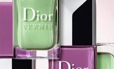 Dior выпустил коллекцию «ароматных» лаков для ногтей