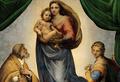О чем говорит мне эта картина? «Сикстинская Мадонна» Рафаэля
