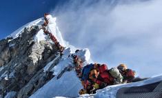 фотографии эверест май 2019
