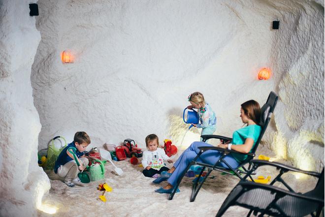 Соляная пещера, отзывы