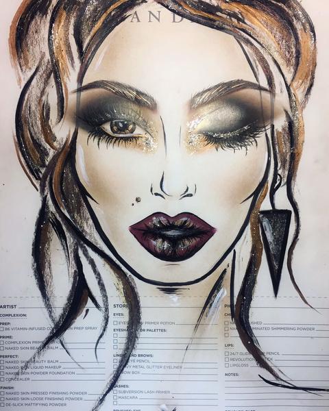 роскошные идеи праздничного макияжа