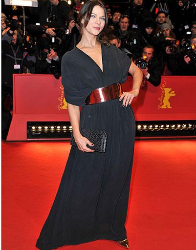 Джессика Шварц на открытии Берлинского кинофестиваля-2013