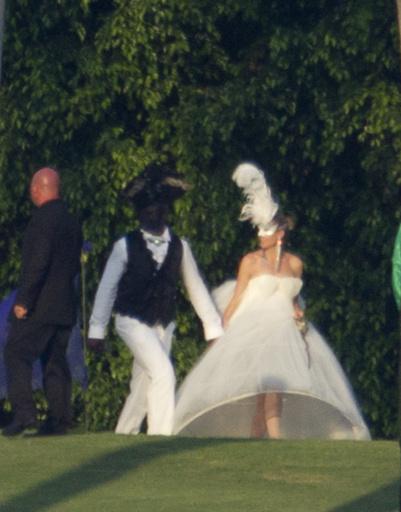 Хайди Клум (Heidi Klum) и Сил (Seal) вновь встретились перед алтарем.