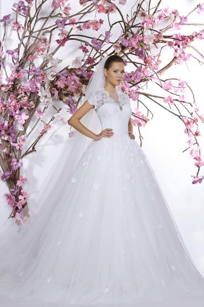 60 пышных свадебных платьев 2015 | галерея [1] фото [45]
