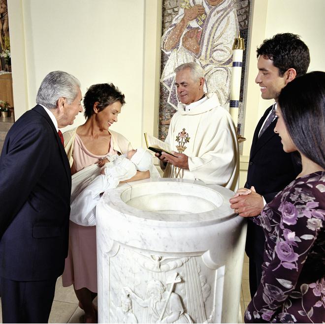 как покрестить ребенка