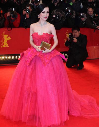 """Хуо Сиян (Huo Siyan) на премьере фильма """"Прощай, моя королева"""""""