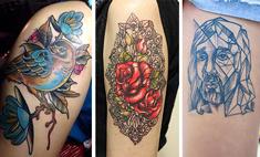Вместо холста: необычные татуировки волгоградок