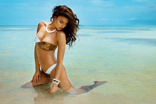 Ирина Шейк (Irina Shayk) для Beach Bunny