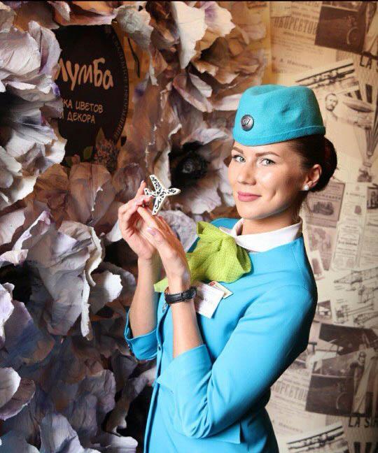 Топ самых красивых стюардесс России