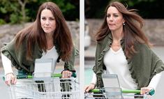 Кэтрин Миддлтон ходит за продуктами в супермаркет
