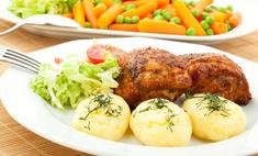 Аппетитные куриные бедра