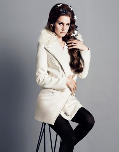 Лана Дель Рей (Lana Del Rey) в рекламной кампании H&M осень-2012
