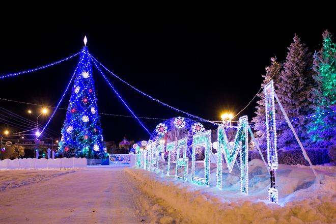 Новогодняя афиша Оренбурга
