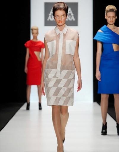 Mercedes-Benz Fashion Week: Anna Arbelina, весна-2012