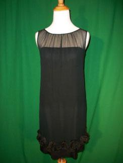 Винтажное черное платье, 60-е годы, eBay.ru