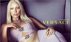 В сети появилось первое фото Леди Гага для Versace