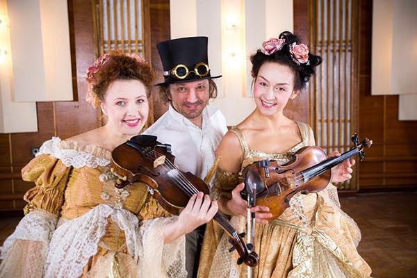 скрипки, скрипичное шоу ULTRA
