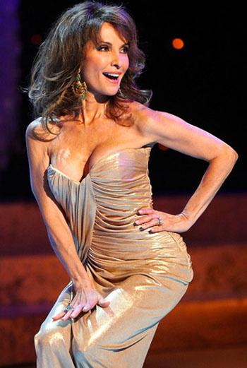 Сьюзен Люси из сериала «Все мои дети» на сцене во время вручения премии