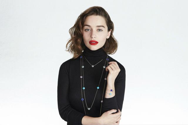 Эмилия Кларк в рекламной кампании Dior