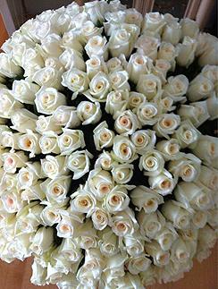 Букет роз для Виктории Лопыревой