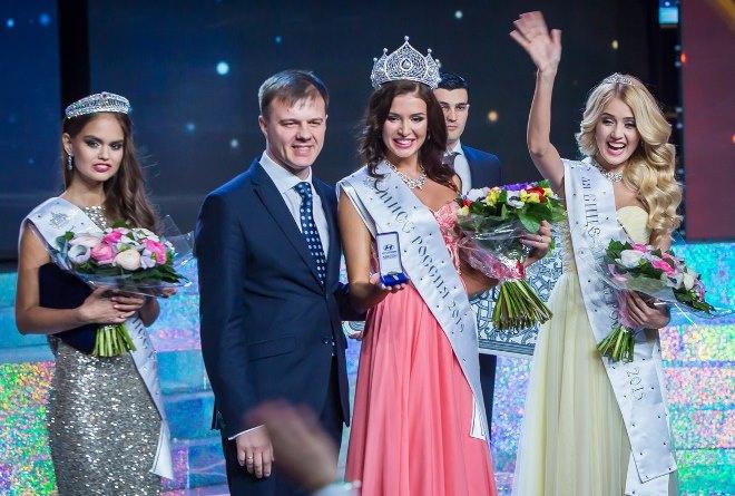 Мисс Россия-2015: воронежская студентка Анастасия Найденова