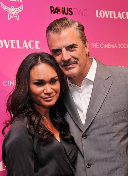 Крис Нот и его жена фото