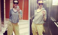 Сати Казанова совершила модную ошибку