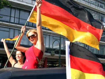 Болельщицы немецкой сборной в ЮАР