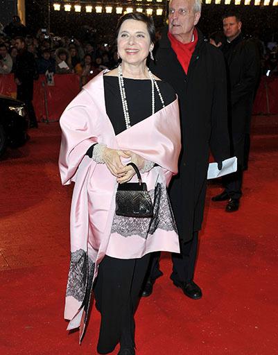 Изабелла Росселини на открытии Берлинского кинофестиваля-2013