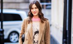 Самые стильные образы с пальто: 11 идей от звезд